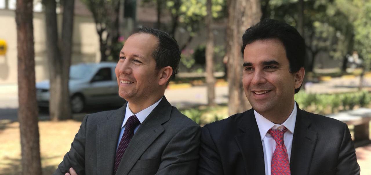 Camilo Kejner and Hernán Fernández (Angel Ventures)
