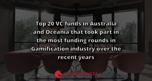 Top 20 VC funds in Australia and Oceania that took part in the most funding rounds in Gamification industry over the recent years