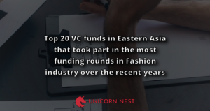 Top 20 VC funds in Eastern Asia that took part in the most funding rounds in Fashion industry over the recent years