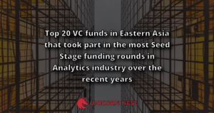 Top 20 VC funds in Eastern Asia that took part in the most Seed Stage funding rounds in Analytics industry over the recent years