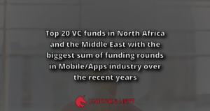 Top 20 VC funds in North Africa and the Middle East with the biggest sum of funding rounds in Mobile/Apps industry over the recent years