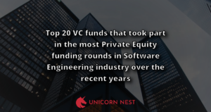 Top 20 VC funds that took part in the most Private Equity funding rounds in Software Engineering industry over the recent years