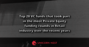 Top 20 VC funds that took part in the most Private Equity funding rounds in Retail industry over the recent years