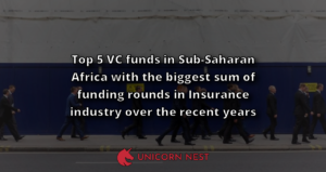 Top 5 VC funds in Sub-Saharan Africa with the biggest sum of funding rounds in Insurance industry over the recent years