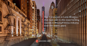 Top 11 investors in Latin America that took part in the most funding rounds in Beauty/Fitness industry over the recent years