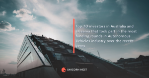 Top 20 investors in Australia and Oceania that took part in the most funding rounds in Autonomous Vehicles industry over the recent years