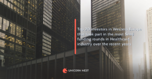 Top 20 investors in Western Europe that took part in the most Seed funding rounds in Healthcare industry over the recent years