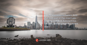 Top 20 investors in Eastern Asia that took part in the most Late funding rounds in Autonomous Vehicles industry over the recent years