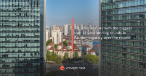 Top 20 investors with the biggest sum of Late funding rounds in Fashion industry over the recent years