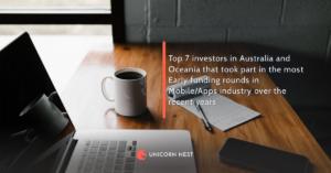 Top 7 investors in Australia and Oceania that took part in the most Early funding rounds in Mobile/Apps industry over the recent years