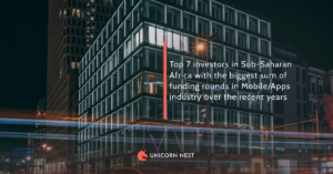 Top 7 investors in Sub-Saharan Africa with the biggest sum of funding rounds in Mobile/Apps industry over the recent years