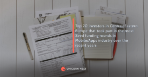Top 20 investors in Central-Eastern Europe that took part in the most Seed funding rounds in Mobile/Apps industry over the recent years