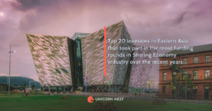 Top 20 investors in Eastern Asia that took part in the most funding rounds in Sharing Economy industry over the recent years
