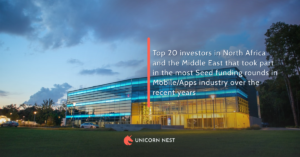 Top 20 investors in North Africa and the Middle East that took part in the most Seed funding rounds in Mobile/Apps industry over the recent years