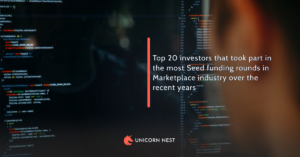 Top 20 investors that took part in the most Seed funding rounds in Marketplace industry over the recent years