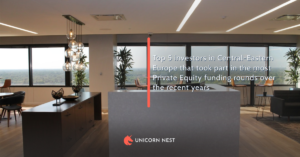 Top 5 investors in Central-Eastern Europe that took part in the most Private Equity funding rounds over the recent years