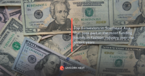 Top 5 investors in Southeast Asia that took part in the most funding rounds in Fashion industry over the recent years