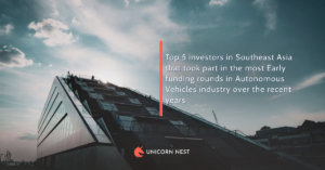 Top 5 investors in Southeast Asia that took part in the most Early funding rounds in Autonomous Vehicles industry over the recent years