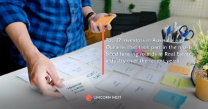 Top 12 investors in Australia and Oceania that took part in the most Seed funding rounds in Real Estate industry over the recent years