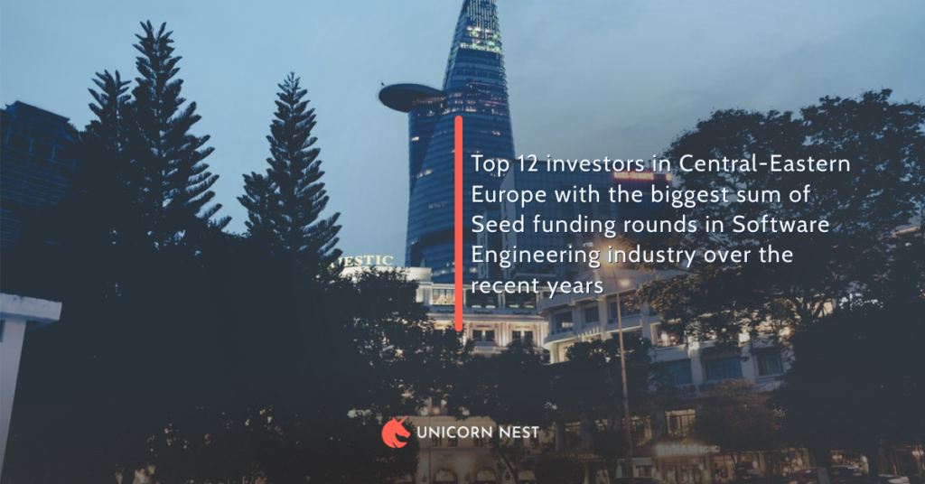 Top 12 investors in Central-Eastern Europe with the biggest sum of Seed funding rounds in Software Engineering industry over the recent years