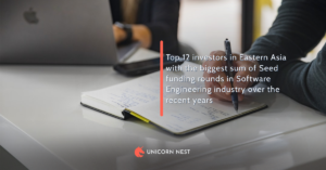 Top 12 investors in Eastern Asia with the biggest sum of Seed funding rounds in Software Engineering industry over the recent years