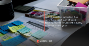 Top 18 Content industry investors in Eastern Asia in Seed funding rounds