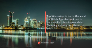 Top 18 investors in North Africa and the Middle East that took part in the most Early funding rounds in Marketing industry over the recent years