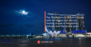Top 18 investors in Western Europe with the biggest sum of Late funding rounds in Hospitality industry over the recent years