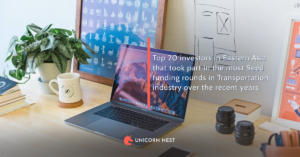 Top 20 investors in Eastern Asia that took part in the most Seed funding rounds in Transportation industry over the recent years