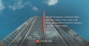 Eastern Asia: 20 Most Active Late Funding Rounds Investors in Content Industry