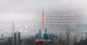 Top 6 investors in Central-Eastern Europe that took part in the most Seed funding rounds in Digital Media industry over the recent years