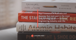Top 7 investors in Australia and Oceania that took part in the most Late funding rounds in Software Engineering industry over the recent years