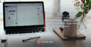 Top 7 investors in Central-Eastern Europe with the biggest sum of funding rounds in Legal industry over the recent years