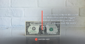 Top 7 investors in North Africa and the Middle East with the biggest sum of Seed funding rounds in Content industry over the recent years