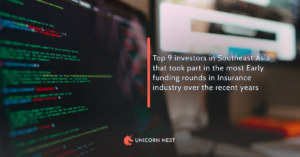Top 9 investors in Southeast Asia that took part in the most Early funding rounds in Insurance industry over the recent years