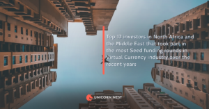 Top 12 investors in North Africa and the Middle East that took part in the most Seed funding rounds in Virtual Currency industry over the recent years