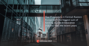 Top 17 investors in Central-Eastern Europe with the biggest sum of funding rounds in Education industry over the recent years