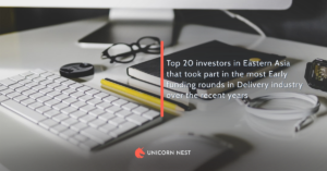 Top 20 investors in Eastern Asia that took part in the most Early funding rounds in Delivery industry over the recent years
