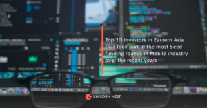 Top 20 investors in Eastern Asia that took part in the most Seed funding rounds in Mobile industry over the recent years