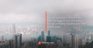 Top 20 investors in Eastern Asia with the biggest sum of funding rounds in Mobile industry over the recent years
