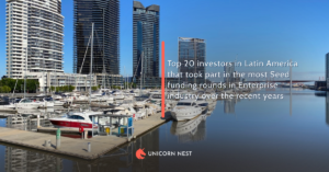 Top 20 investors in Latin America that took part in the most Seed funding rounds in Enterprise industry over the recent years