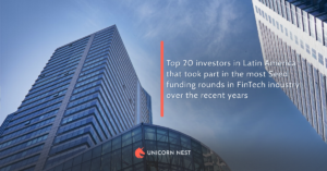 Top 20 investors in Latin America that took part in the most Seed funding rounds in FinTech industry over the recent years