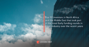 Top 20 investors in North Africa and the Middle East that took part in the most Early funding rounds in Legal industry over the recent years