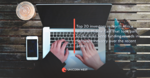 Top 20 investors in North Africa and the Middle East that took part in the most Seed funding rounds in Software industry over the recent years