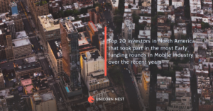 Top 20 investors in North America that took part in the most Early funding rounds in Mobile industry over the recent years