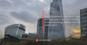 Top 20 investors in Southeast Asia that took part in the most funding rounds in Gaming industry over the recent years
