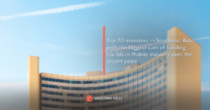 Top 20 investors in Southeast Asia with the biggest sum of funding rounds in Mobile industry over the recent years