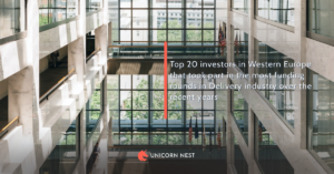 Top 20 investors in Western Europe that took part in the most funding rounds in Delivery industry over the recent years