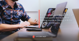 Top 20 investors in Western Europe that took part in the most Seed funding rounds in Gaming industry over the recent years