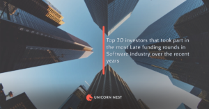 Top 20 investors that took part in the most Late funding rounds in Software industry over the recent years
